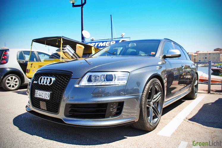 Gespot: Audi RS6 Avant | | Spots GroenLicht.be
