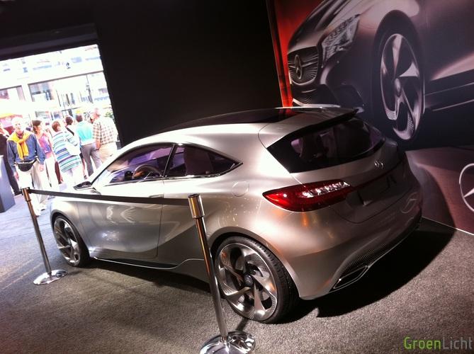 Gespot Mercedes A Klasse Concept Spots Groenlicht Be