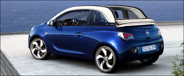preview opel adam cabrio. Black Bedroom Furniture Sets. Home Design Ideas