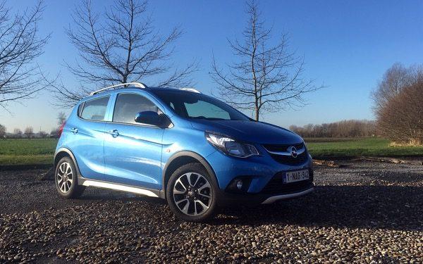 Rijtest: Opel Karl Rocks 1.0 73 pk (2017)
