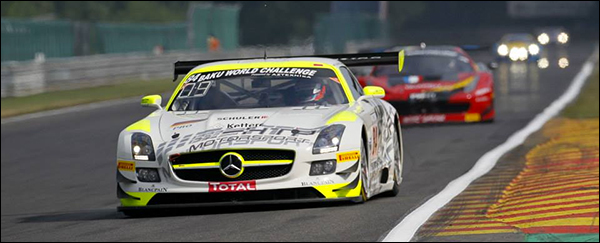 Dit weekend: 24u Total Spa Francorchamps 2014