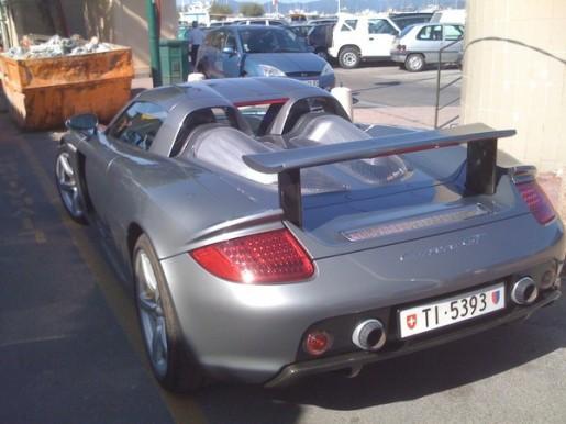Porsche Carrera GT gespot