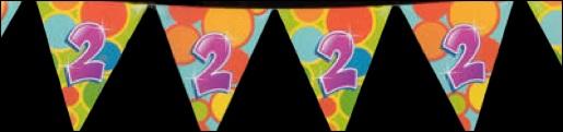 Gelukkige Verjaardag 2 Jaar!!!