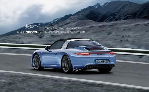 Porsche 911 Targa Teamspeed