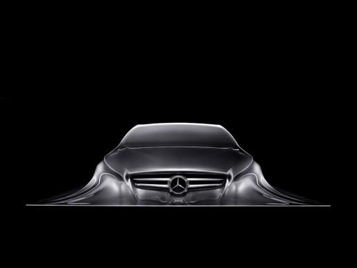 Mercedes CLS Design Skulptur