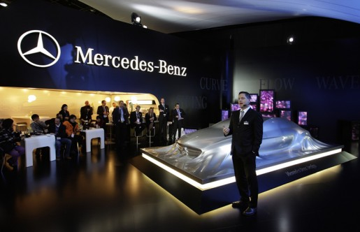 Mercedes-Benz auf der Detroit Motor Show 2010
