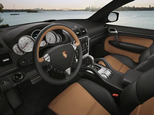 Porsche Cayenne Turbo S Interieur