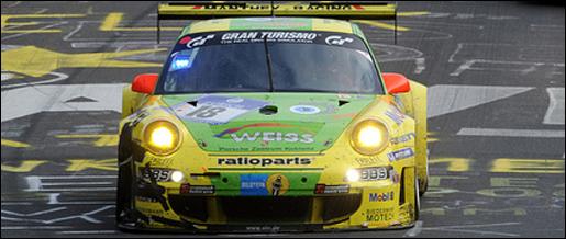 Porsche 911 GT3 RSR Manthey
