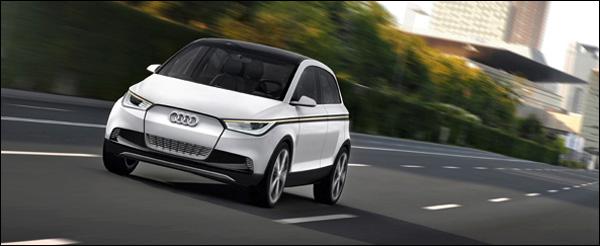 Audi A2 concept/Fahraufnahme