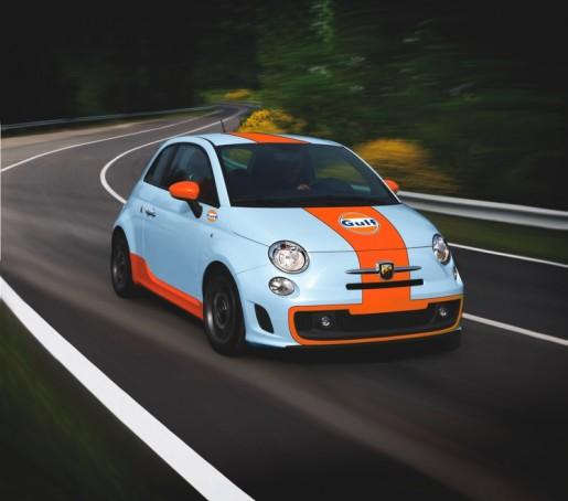Abarth 500 Gulf Limited Edition