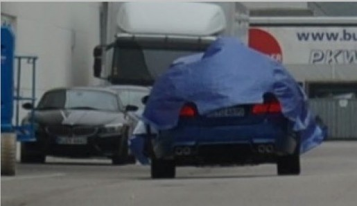 Achterbumper BMW M5