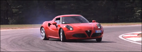 Alfa Romeo 4C Chris Harris