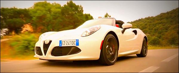 Video: Alfa Romeo 4C Spider
