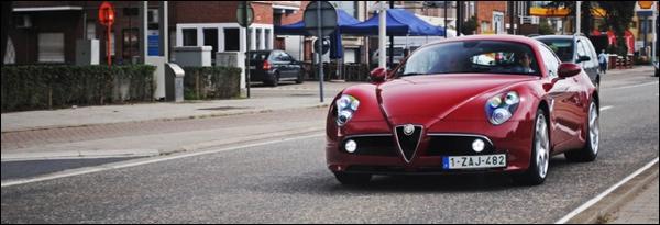 Alfa Romeo 8C Competizione gespot