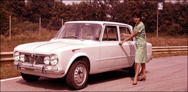 Alfa Romeo Giulia 50 Jaar 1962