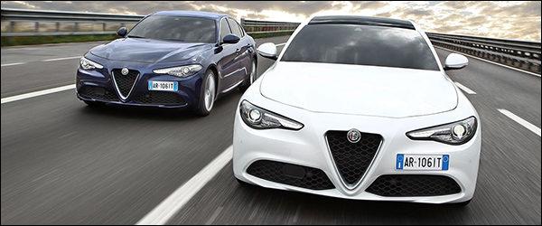 Belgische prijs Alfa Romeo Giulia: vanaf €31.990
