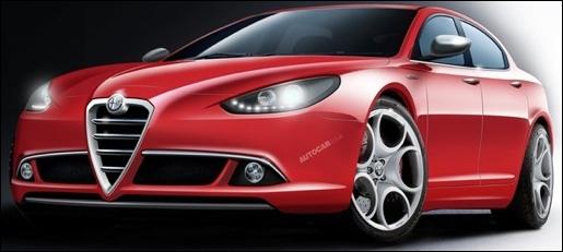 Alfa Romeo Giulia nieuwe geruchten