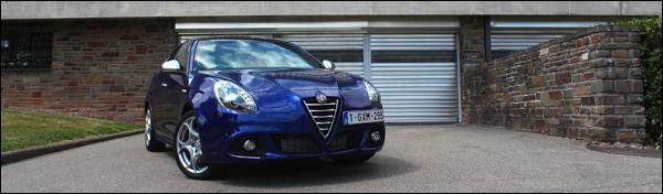 Alfa Romeo Giulietta TCT - Rijtest