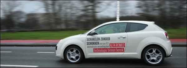 Alfa Romeo MiTo TCT Tassen Stunt