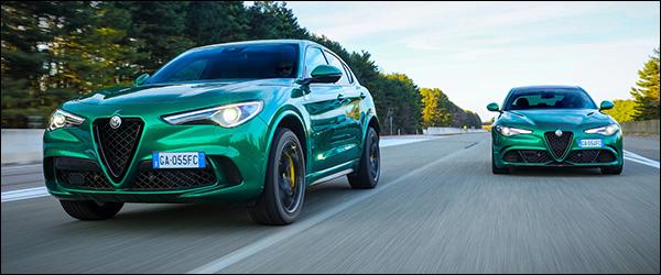 Officieel: Alfa Romeo Stelvio Quadrifoglio + Giulia Quadrifoglio update (2020)