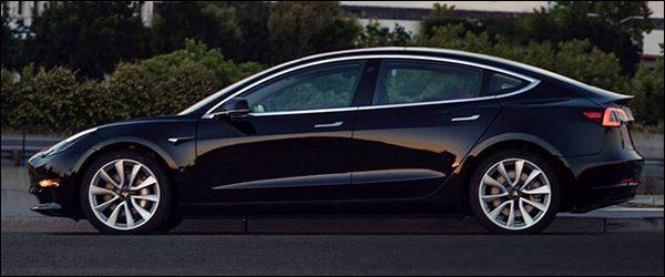 Eerste leveringen Tesla Model 3 zijn een feit