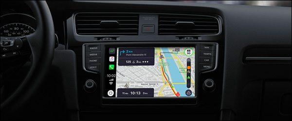 Coyote, Google Maps en Waze binnenkort beschikbaar via Apple CarPlay (iOS12)