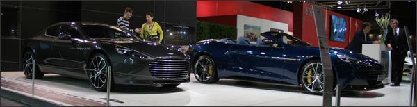 Aston Martin Autosalon brussel 2014