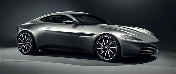 Officieel: James Bond krijgt een Aston Martin DB10