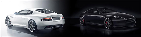 Officieel: Aston Martin DB9 Carbon Black & Carbon White
