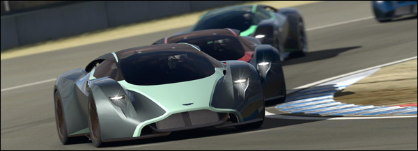 Aston Martin DP-100 Vision GT