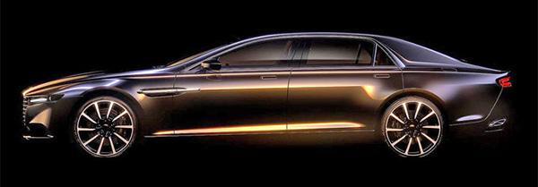 Teaser: Aston Martin Lagonda