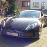 De eerste Belgische Aston Martin One-77 is een feit
