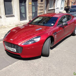 Gespot: Aston Martin Rapide S Gentbrugge