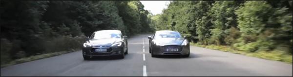 Aston Martin Rapide S vs Tesla Model S