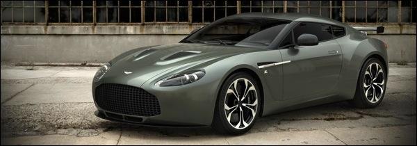 Aston Martin V12 Zagato Productie
