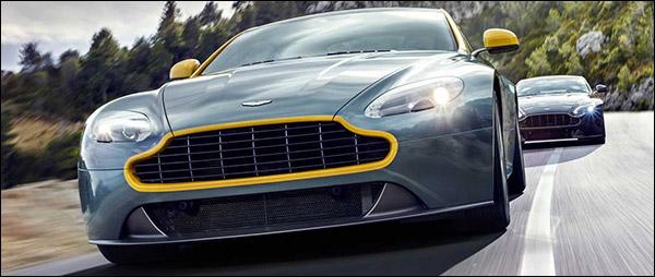 Aston Martin komt met V8 Vantage N430
