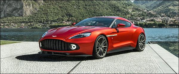 Aston Martin Vanquish Zagato in productie!