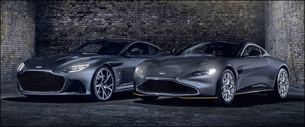 Officieel: Aston Martin Vantage 007 Edition + DBS Superleggera 007 Edition (2020)