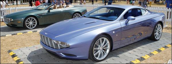 Aston Martin DBS Coupe & DB9 Volante Zagato Centennial
