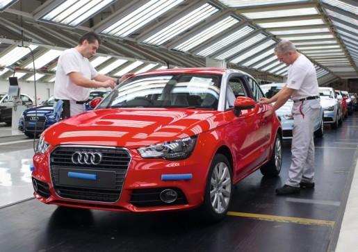 Audi A1 Vorst 7.000.000 exemplaren