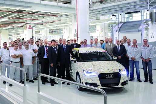 Audi A1 nummer 100.000