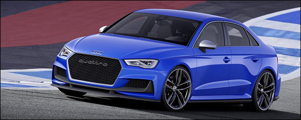 Officieel: Audi A3 Clubsport Quattro Concept