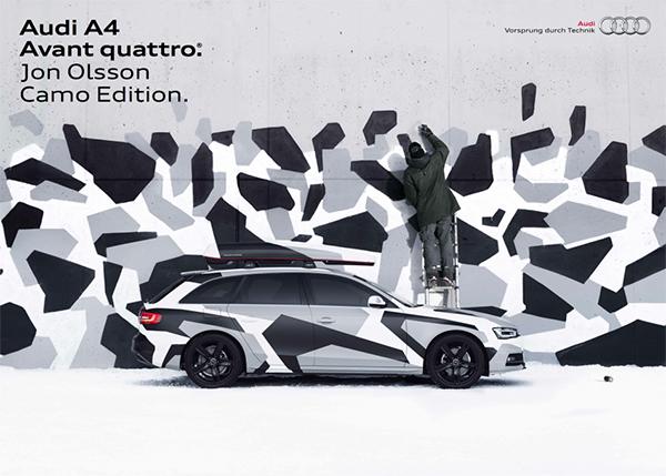 Audi A4 Jon Olsson Camo Edition - Zweden