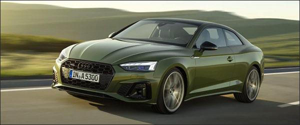 Officieel: Audi A5 + S5 TDI facelift (2019)