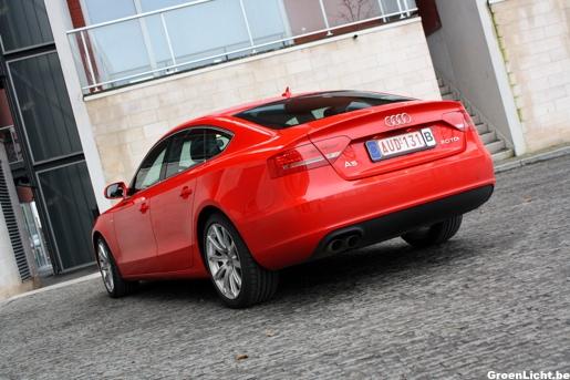 Audi A5 Sportback Rijtest Exterieur