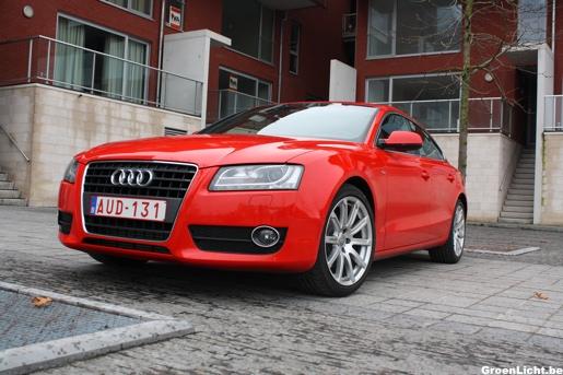 Audi A5 Sportback Rijtest Exterieur voorkant