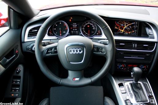 Audi A5 Sportback Rijtest Interieur