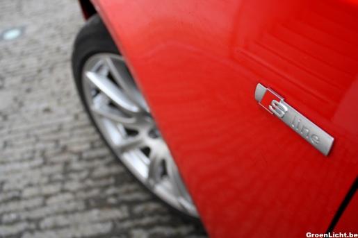 Audi A5 Sportback Rijtest S-Line