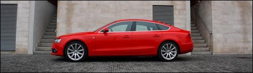 Audi A5 Sportback Rijtest