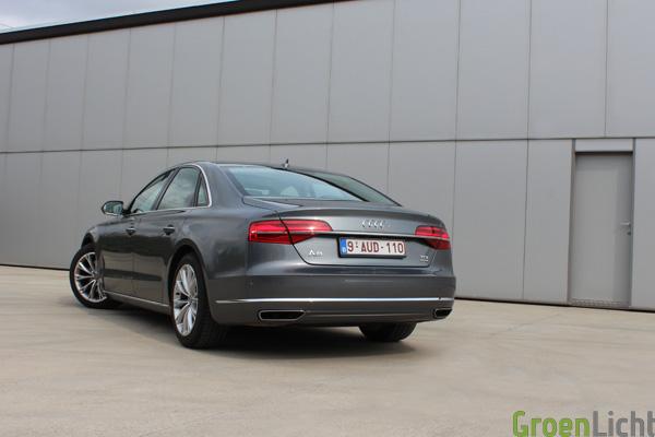 Audi A8 Facelift - Rijtest A8 TDI 258 pk - 04